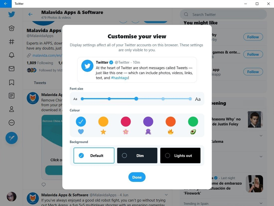 Twitter 6 1 4 1000 - Download for PC Free