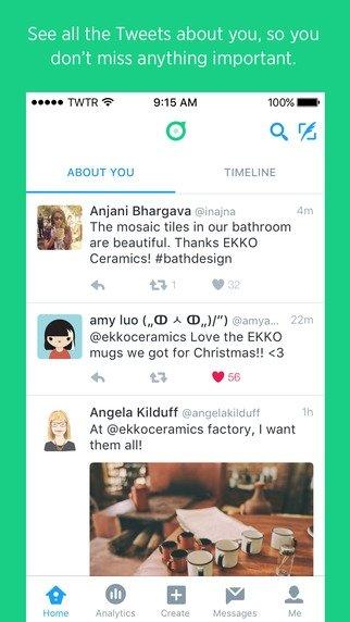 Twitter Dashboard iPhone image 4