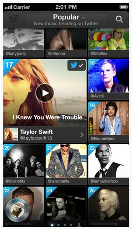 Twitter #music iPhone image 4