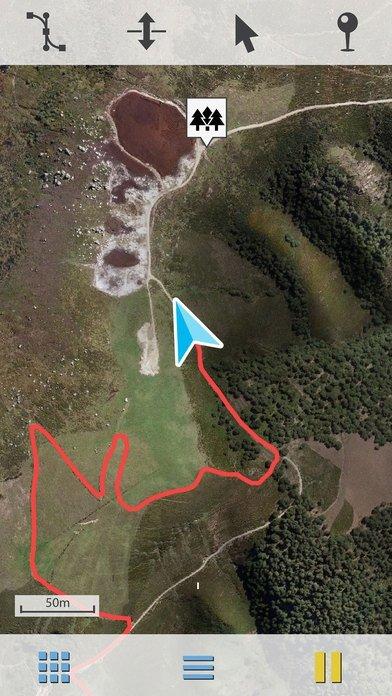 TwoNav GPS iPhone image 5