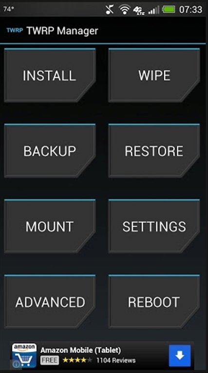 TWRP Manager Android image 3