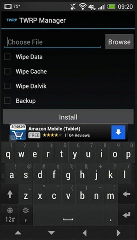 TWRP Manager 9 8 - Descargar para Android APK Gratis