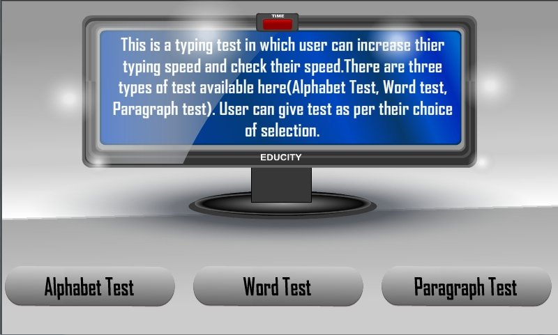 Typing Tutor Android image 3