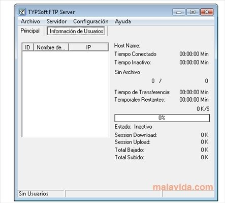 typsoft ftp server 1.11