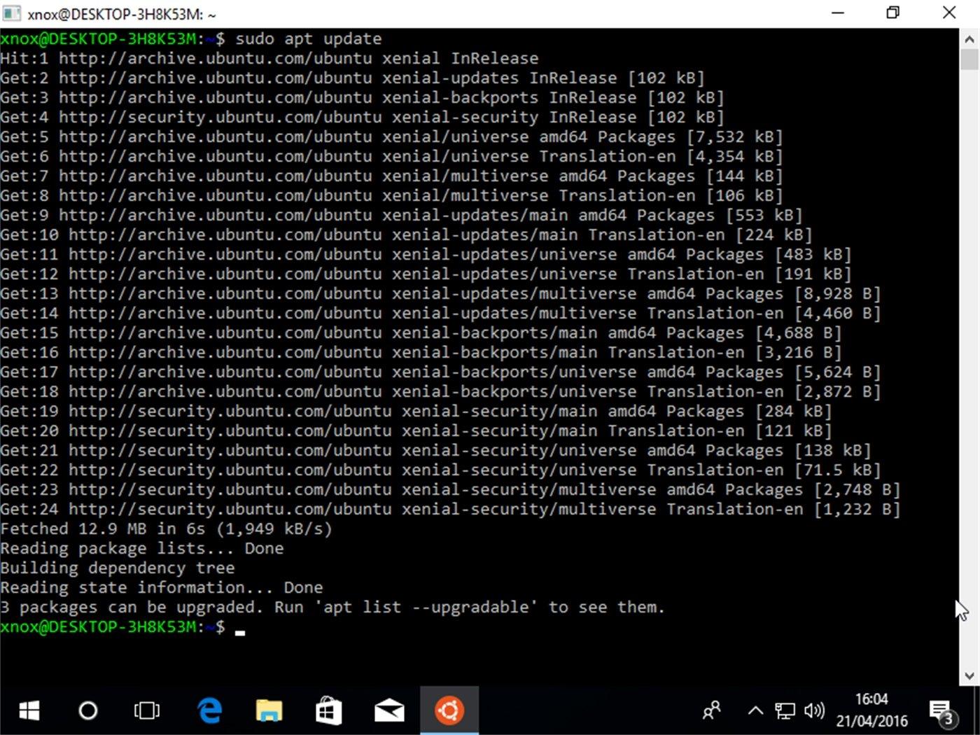 telecharger terminal linux pour windows