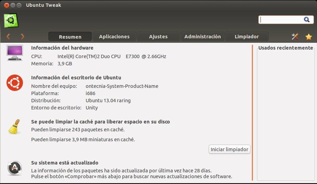 Ubuntu Tweak Linux image 6
