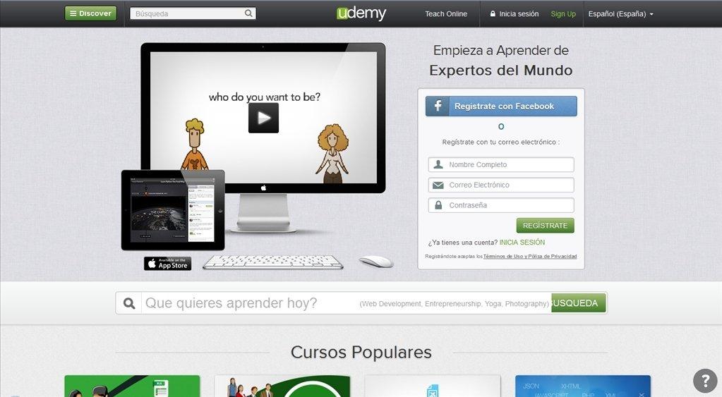 Udemy Webapps image 8