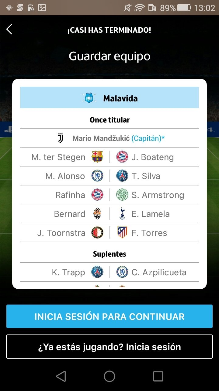 UEFA Champions League Fantasy 1 28 - Download for Android APK Free