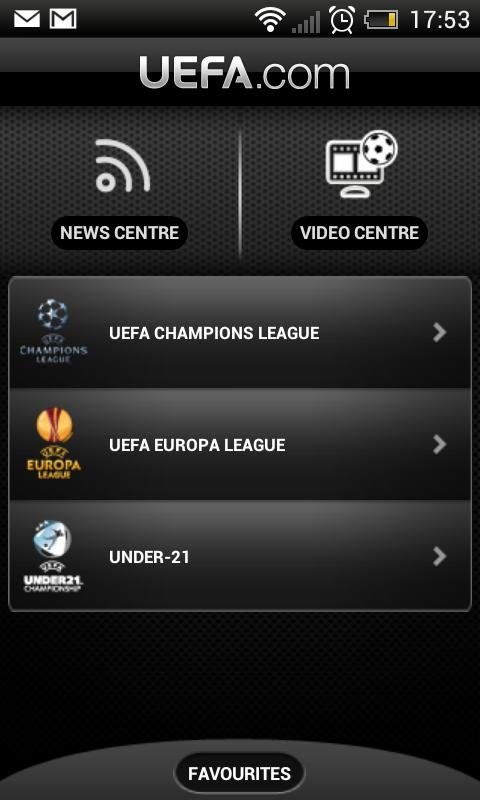 UEFA.com Android image 5