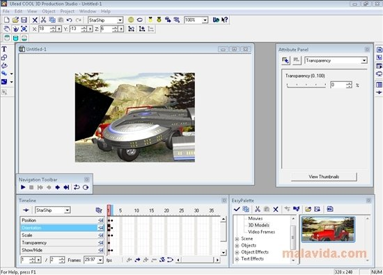 Ulead COOL 3D Production Studio image 4