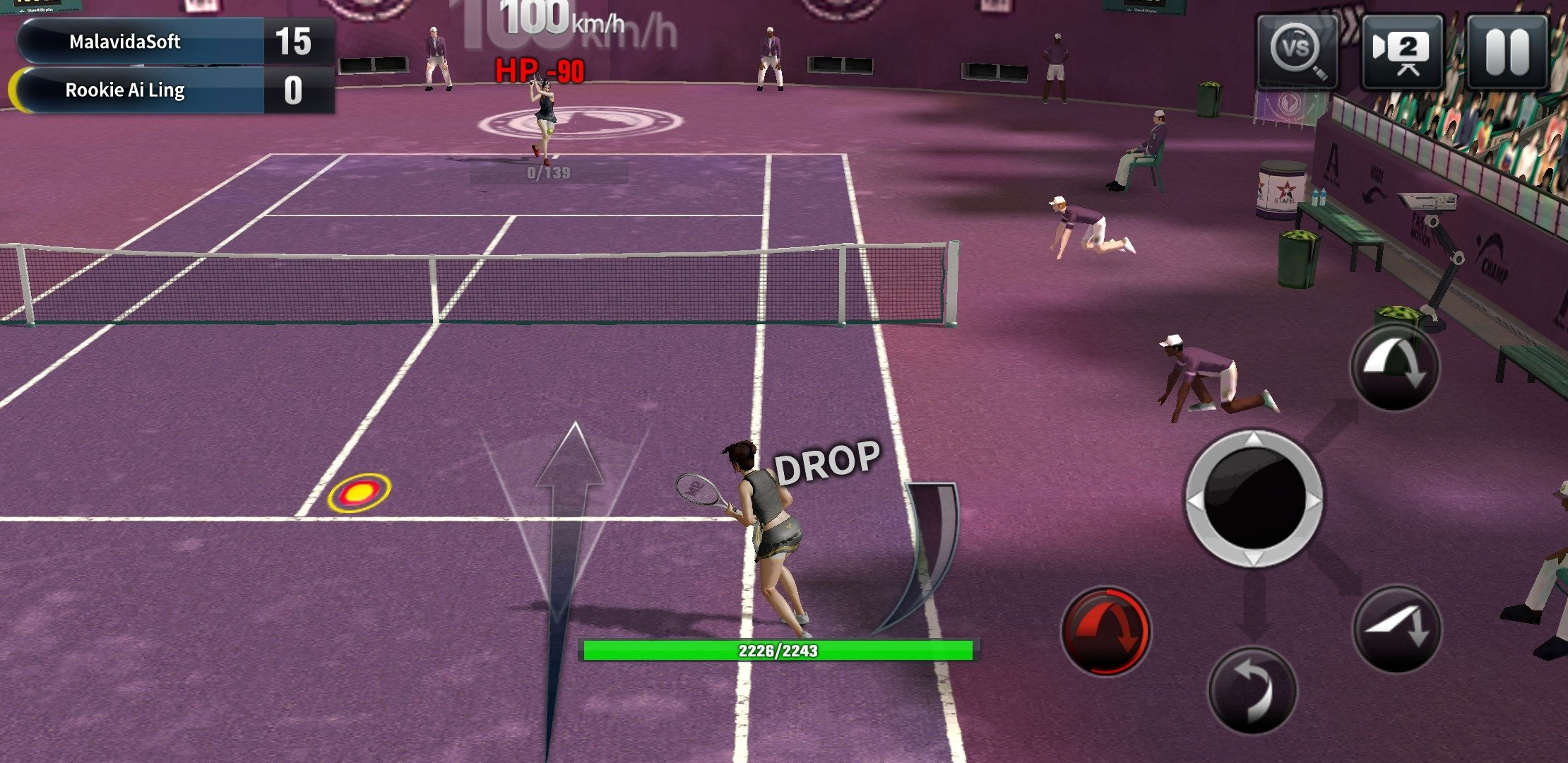 Ultimate Tennis Android image 8