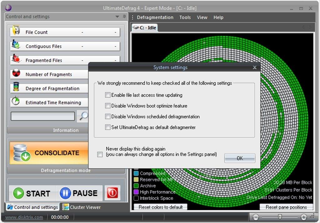 Disktrix ultimatedefrag 2019 free download.