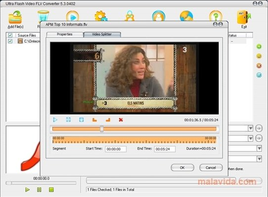 Ultra Flash Video FLV Converter image 4
