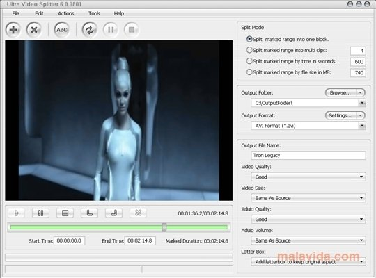 Ultra Video Splitter 6.3.0506