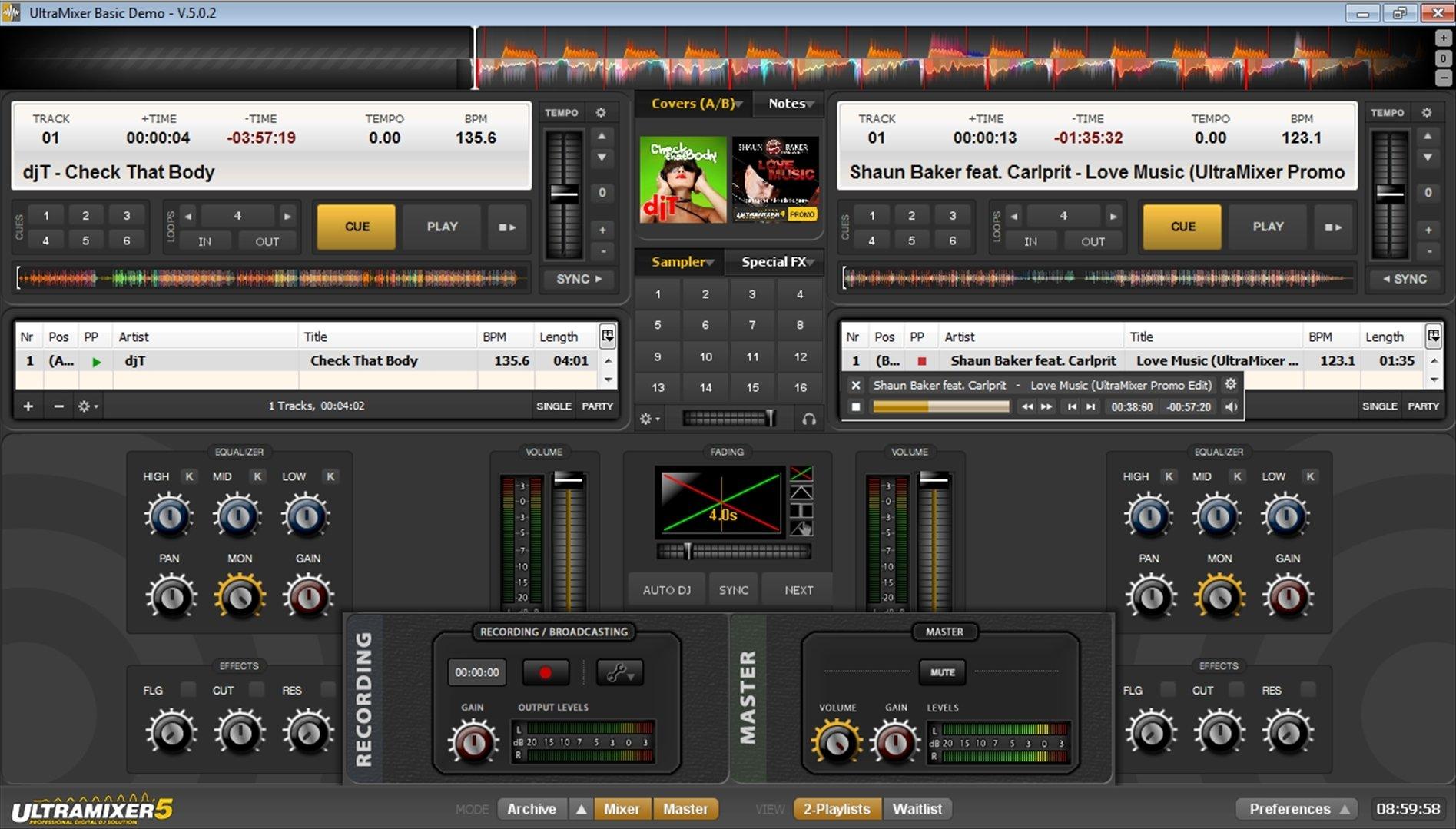 UltraMixer 5.0.2