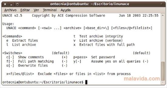 Unace Linux image 2