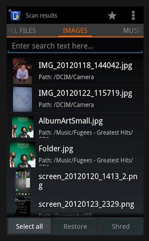 Undelete Android image 4