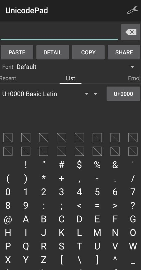 Unicode Pad 2 5 0 - Download for Android APK Free