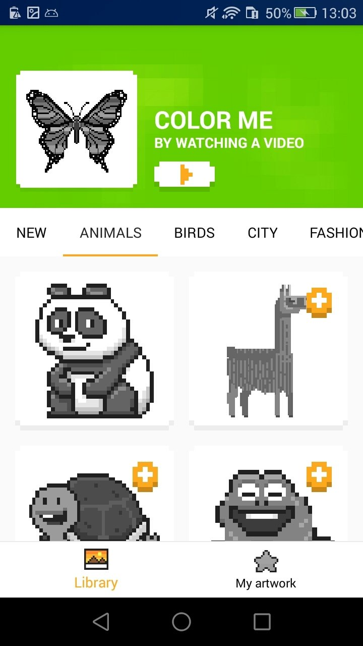 Download UNICORN - Color by Number Pixel Art Game 1.0.0.5 Android ...