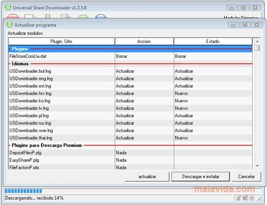Universal Share Downloader 1.3.5.6
