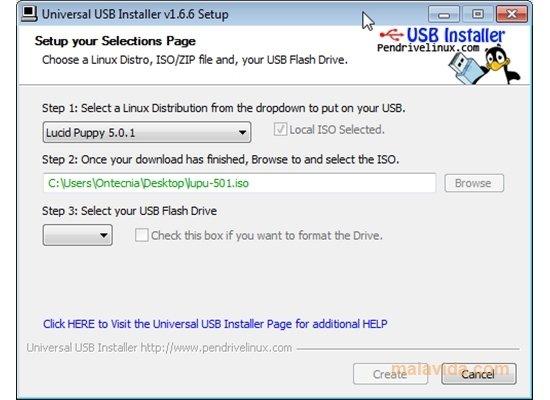 Universal USB Installer image 3