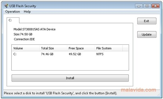 Free usb disk security — download.