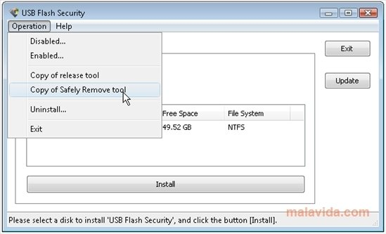Free usb disk security download.