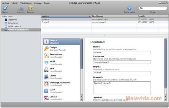 Utilitaire de configuration iPhone image 4