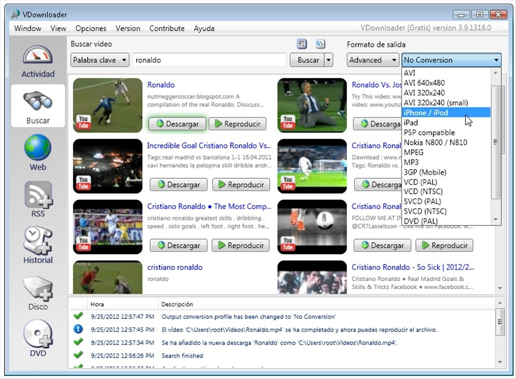 gratuitement vdownloader youtube