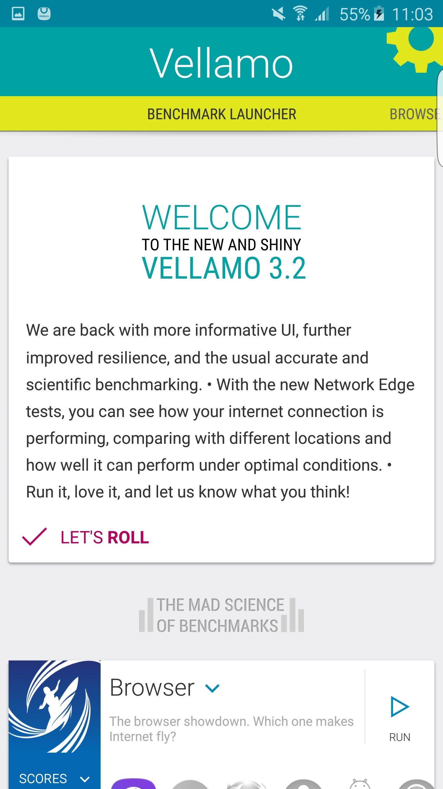 Vellamo Android image 6