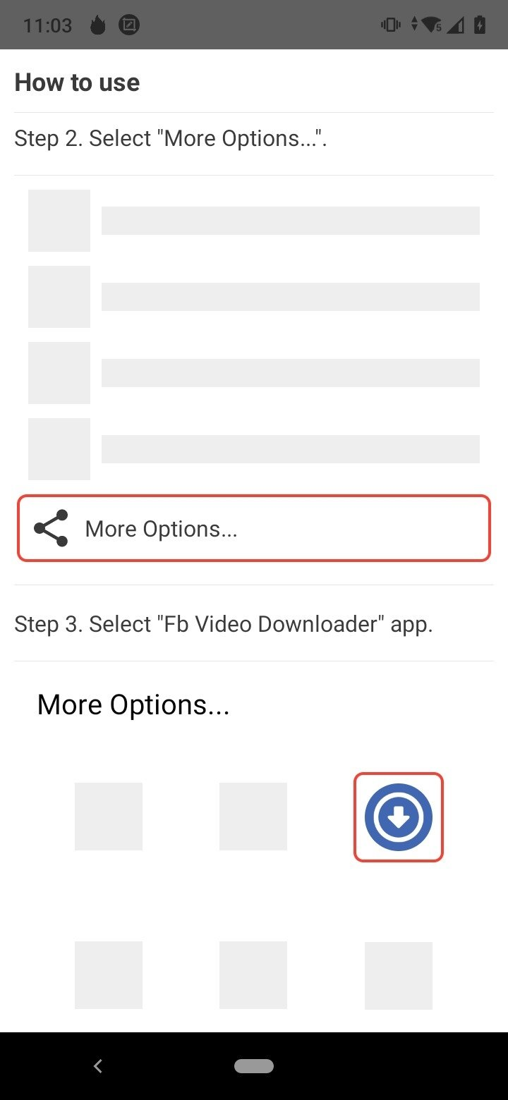 7857dbcc78261 Video Downloader for Facebook 1.1 - Android用ダウンロードAPK無料