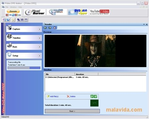 Audio DVD Maker is an innovative utility for you to personalize your own mu