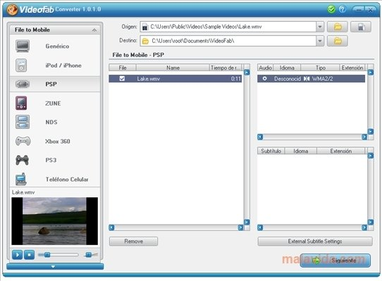 VideoFab Converter image 4
