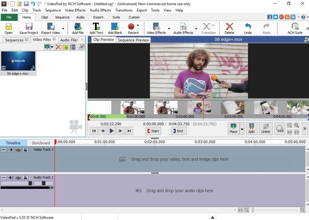 VideoPad Video Editor image 4