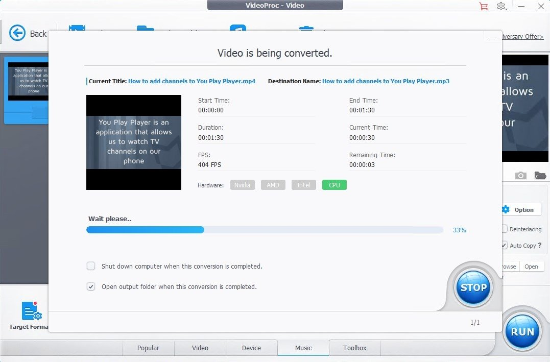 VideoProc 3 3 - Download for PC Free