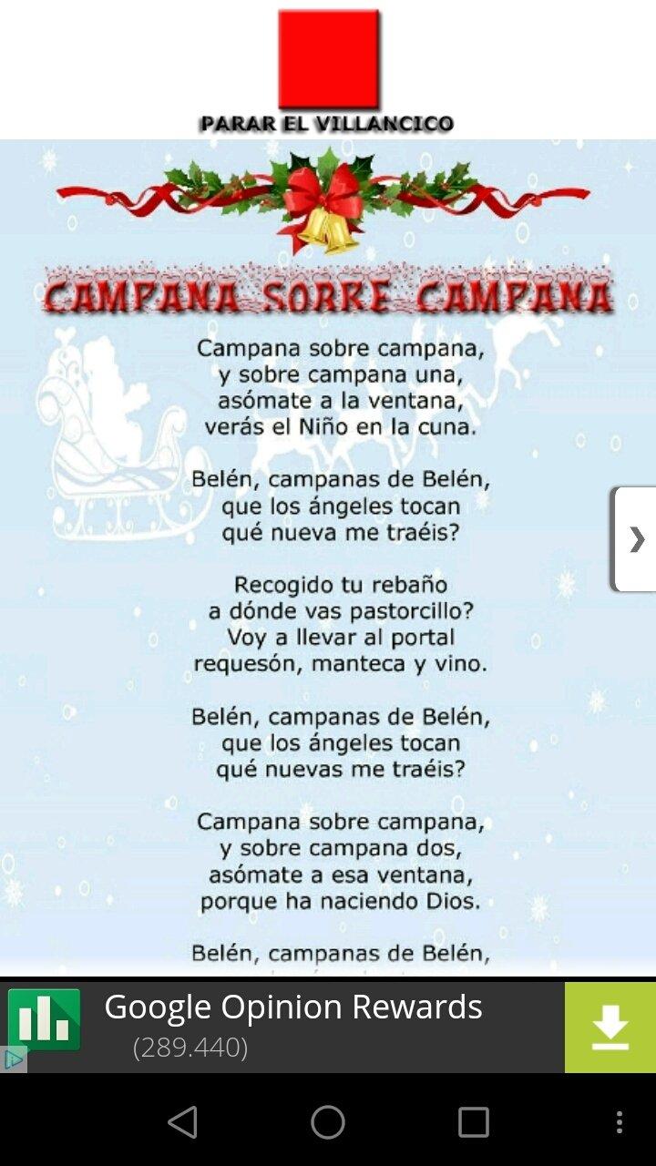 Imagenes De Villancicos Campana Sobre Campana.Villancicos Espanoles 12 0 0 Descargar Para Android Apk Gratis