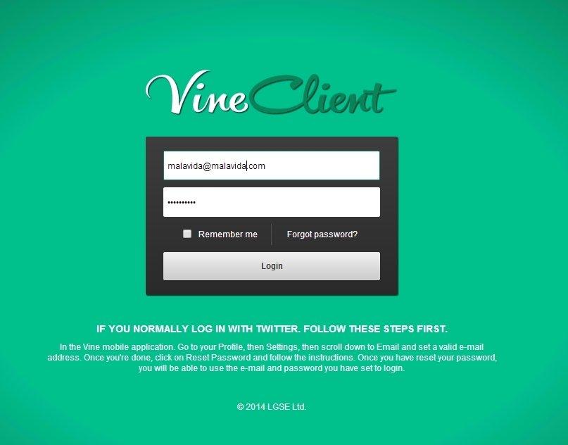 VineClient image 5