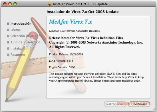Virex DAT Mac image 2