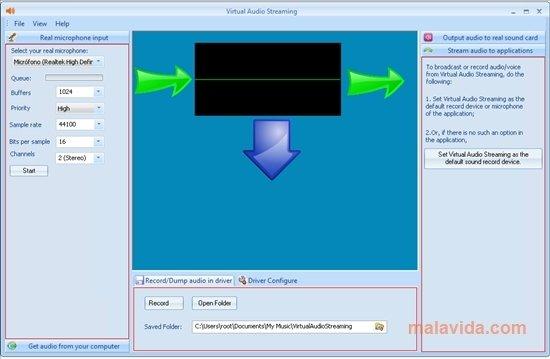 Virtual Audio Streaming