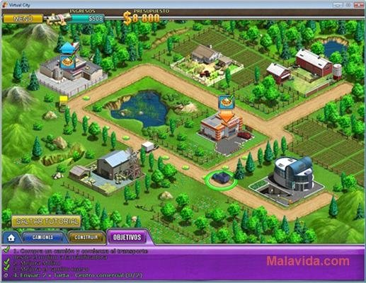 virtual city game free  for pc