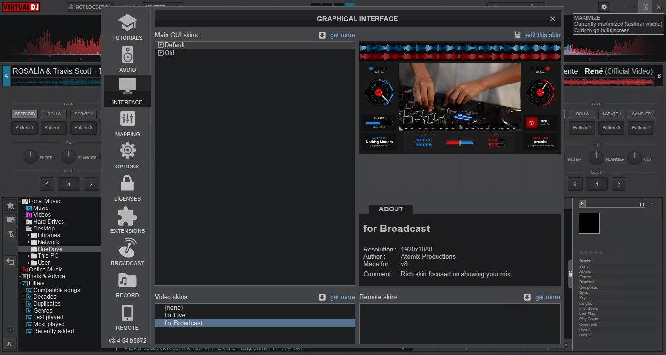 Virtual DJ 8 3 5186 - Download for PC Free