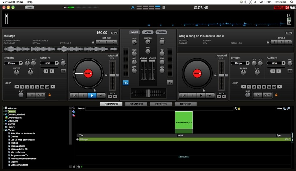 T l charger virtual dj 8 mac gratuit - Table de mixage virtuel gratuit en francais ...