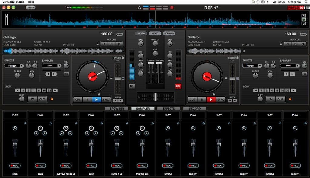 Virtual DJ 8 3 5186 - Download for Mac Free