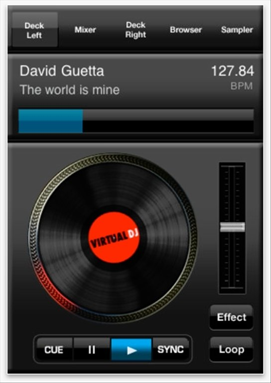 Virtual DJ iRemote - Download for iPhone Free