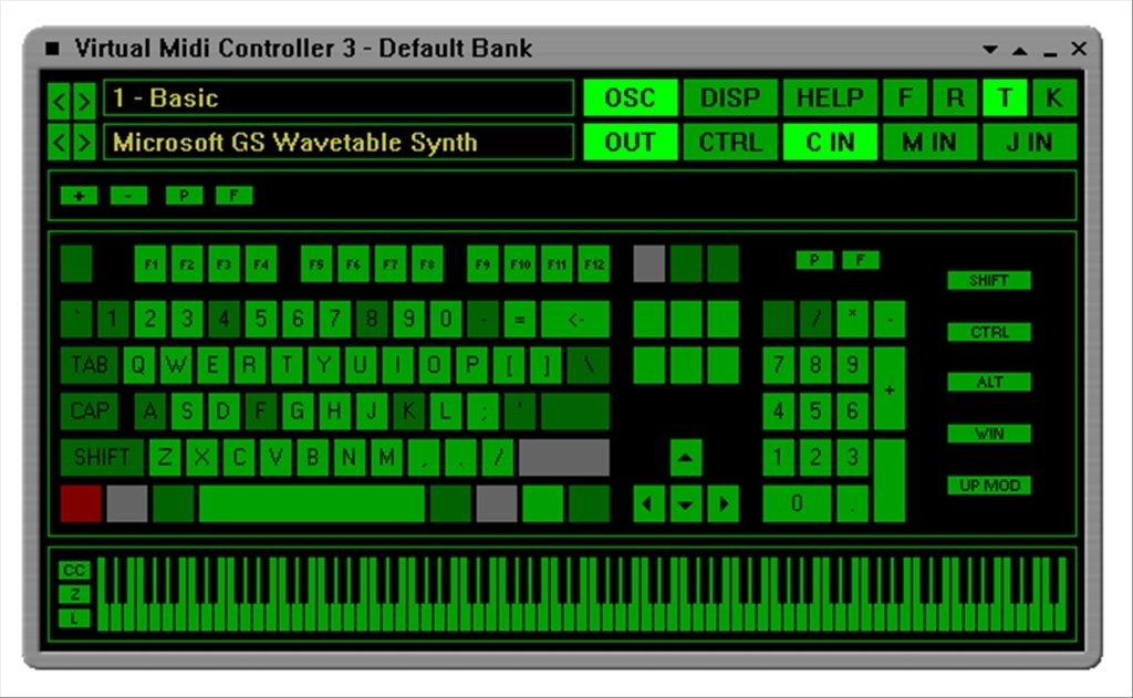 Virtual Midi Controller 3.2 - Download for PC Free