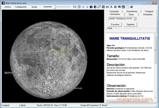 Virtual Moon Atlas image 4