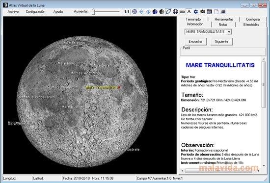 Virtual Moon Atlas Pro 6 0 - Download for PC Free