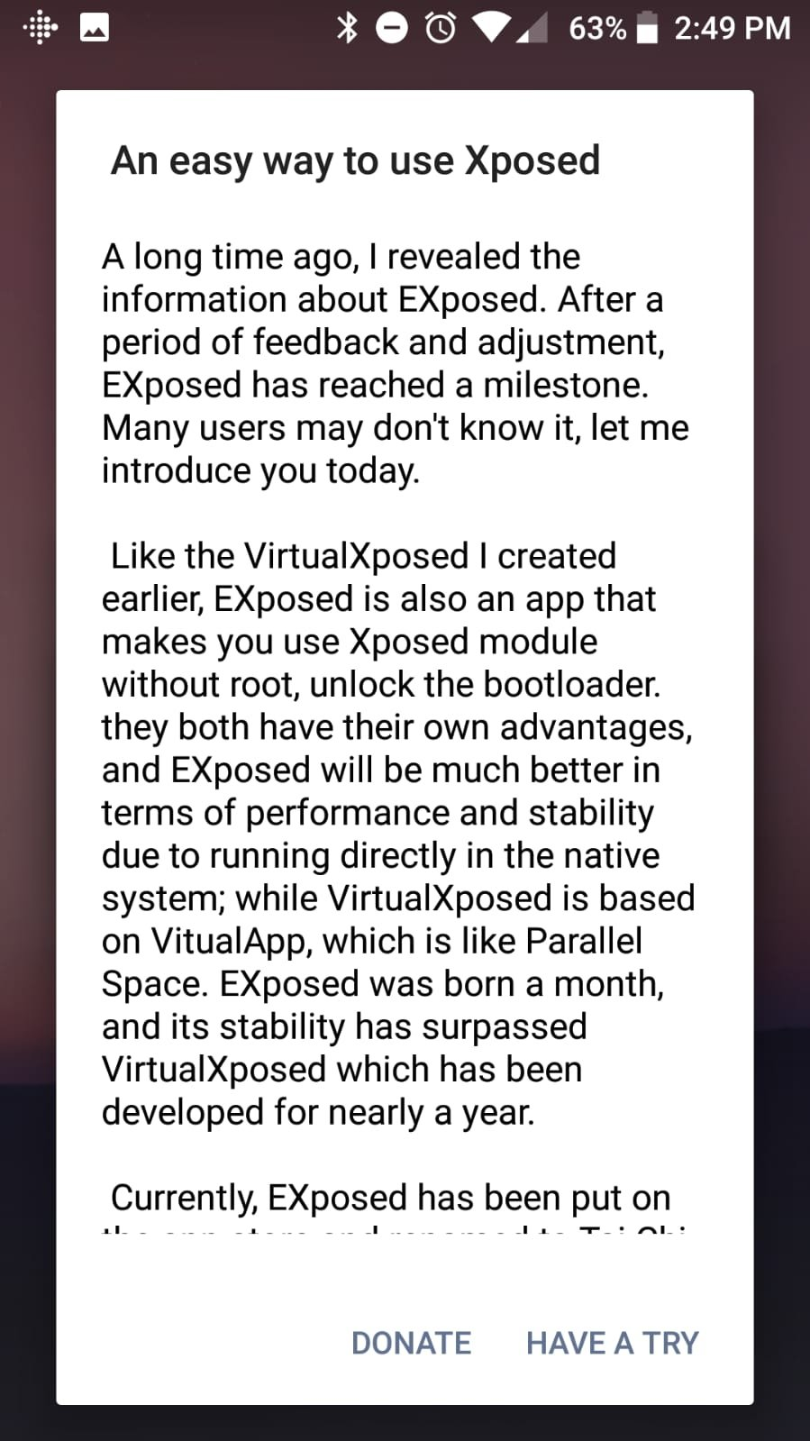 VirtualXposed 0 17 3 - Download for Android APK Free