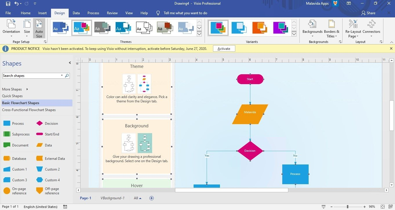 Microsoft Visio Professional 2016 - Download for PC Free