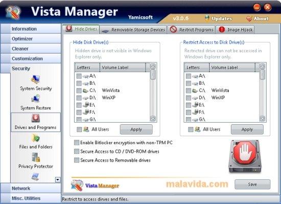 Vista Manager image 7
